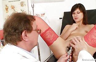 רופא שיניים סקסי. * זקנה מזדינת