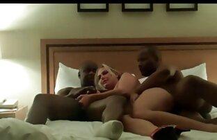 הוא והוא גבר שחור בחדר במלון. סקס חינם חיות